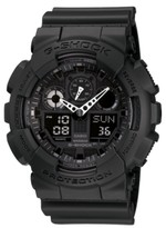 Thumbnail for your product : G-Shock Men's Black Resin Watch, 55mm