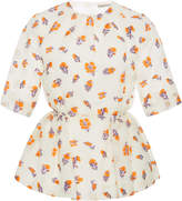 Emilia Wickstead Gerty Printed Peplum Top