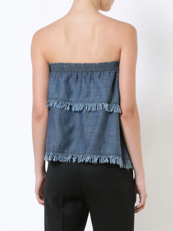 Trina Turk strapless top