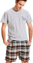 Peter Alexander peteralexander Mens Buddy Check Mid Short