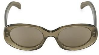 Celine 52MM Oval Sunglasses