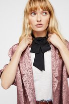 Free People Anika Bow Neck Tie