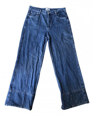 Ganni Blue Denim - Jeans Jeans