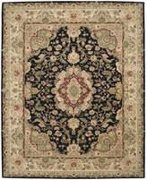 Nourison Area Rug, Wool & Silk 2000 2028 Black 12'x15'