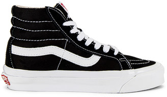 Vans OG Sk8-Hi LX in Black & True White | FWRD