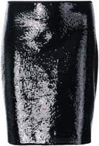 Diane von Furstenberg sequinned mini skirt