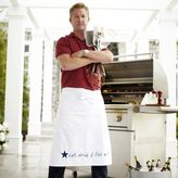 Sur La Table Chef Tim Love Long Half Apron