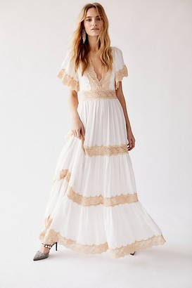 Free People Spell And The Gypsy Collective Ocean Gown by Spell and the Gypsy Collective at