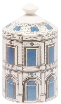 Fornasetti Palazzo Celeste Otto-scented Candle - Blue White