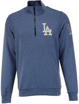'47 Men's Los Angeles Dodgers Forward Peak Quarter-Zip Pullover