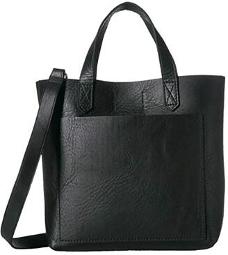 Madewell The Small Transport Crossbody (True Black) Handbags