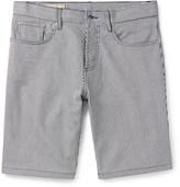 Maison Kitsuné - Adam Striped Cotton-twill Shorts