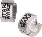 Star Wars Stainless Steel Logo Huggie Earrings