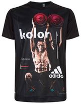 Adidas X Kolor Graphic Print T-Shirt