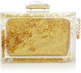 Glitter Globe Perspex box clutch
