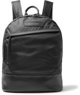 WANT Les Essentiels Kastrup Leather-trimmed Nylon Backpack - Black