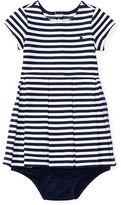 Ralph Lauren Girl Pleated Knit Dress & Bloomer