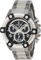 Invicta Men's 13719 Arsenal Chronograph Textured Dial Stainless Steel Watch
