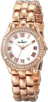 Peugeot Women's 7037RG Analog Display Japanese Quartz Rose Gold Watch