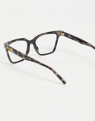 Quay CEO womens blue light glasses in black