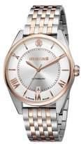 Roberto Cavalli Men's Classic Automatic Silver Stainless Steel Bracelet Watch.