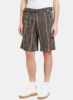 Missoni Men's Striped Bermuda Shorts In Multicolour