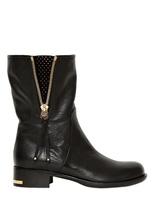 Ballin 40mm Studded Calfskin Boots