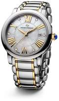 David Yurman Classic 38mm Stainless Steel Quartz with Diamond Markers & Gold
