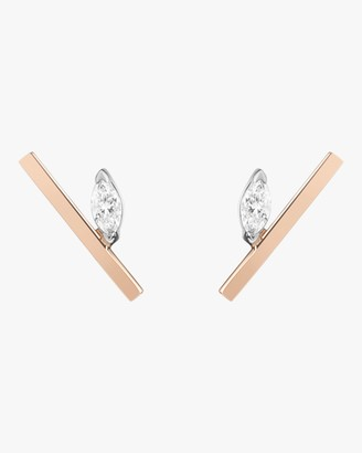 Selin Kent Defne Bar Stud Earrings