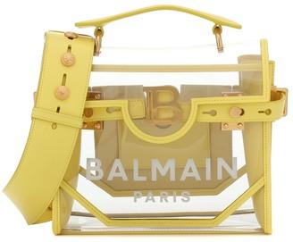 Balmain Exclusive to Mytheresa B-Buzz 30 PVC shoulder bag