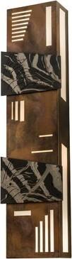 Indigo 1-Light Flush Mount Meyda Tiffany