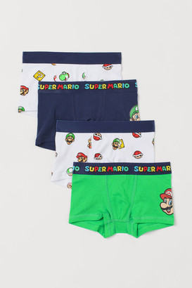 H&M 4-pack Boxer Shorts - Green