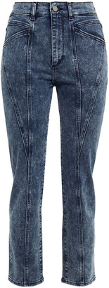 DL1961 Mara Cropped High-rise Slim-leg Jeans