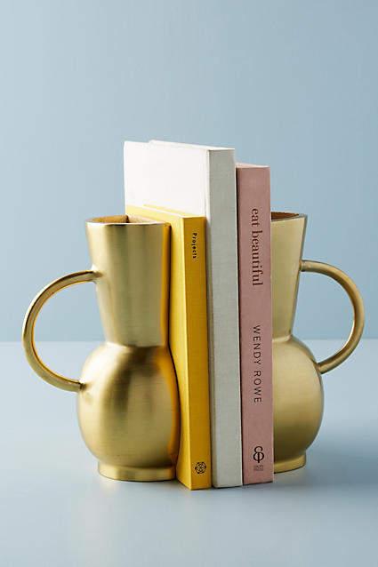 Anthropologie Vase Bookends