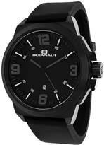 Oceanaut Mens Armada Black Rubber Strap Watch