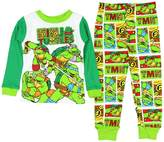 AME Sleepwear Teenage Mutant Ninja Turtles Little Boys Long Sleeve Cotton Pajama Set