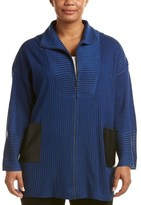 Misook Plus Relaxed Fit Jacket.