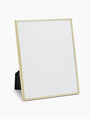 Marks and Spencer Brass Photo Frame 8 x 10 inch