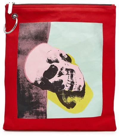 Calvin Klein x Andy Warhol Printed Canvas Pouch
