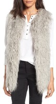 Hinge Women's Faux Fur Vest