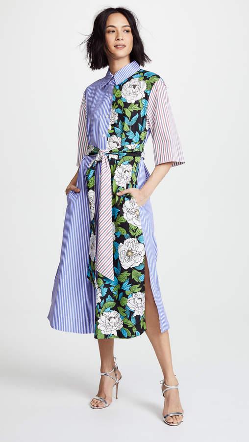 Diane von Furstenberg Belted Shirtdress