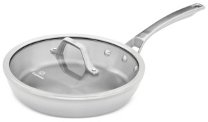 """Calphalon Signature Stainless Steel 10"""" Skillet with Cover"""