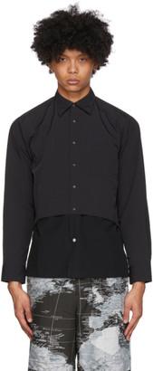 SASQUATCHfabrix. Black Ventilation Shirt