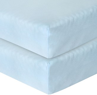 John Lewis & Partners Baby GOTS Organic Cotton Fitted Cotbed Sheet, Pack of 2