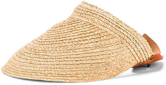 Lola Hats Marquee Visor in Natural | FWRD