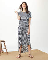 Splendid X Margherita Isola Striped Sarong Skirt