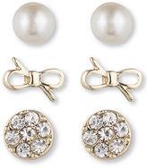 lonna & lilly Classic Stud Earring Set 3 Pairs