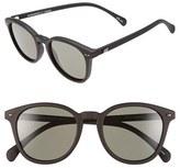Le Specs Women's 'Bandwagon' 51Mm Sunglasses - Black Rubber
