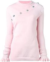 Marques Almeida Marques'almeida - studded jumper - women - Polypropylene - S