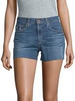 AG Adriano Goldschmied Women's Led High-Rise Denim Shorts
